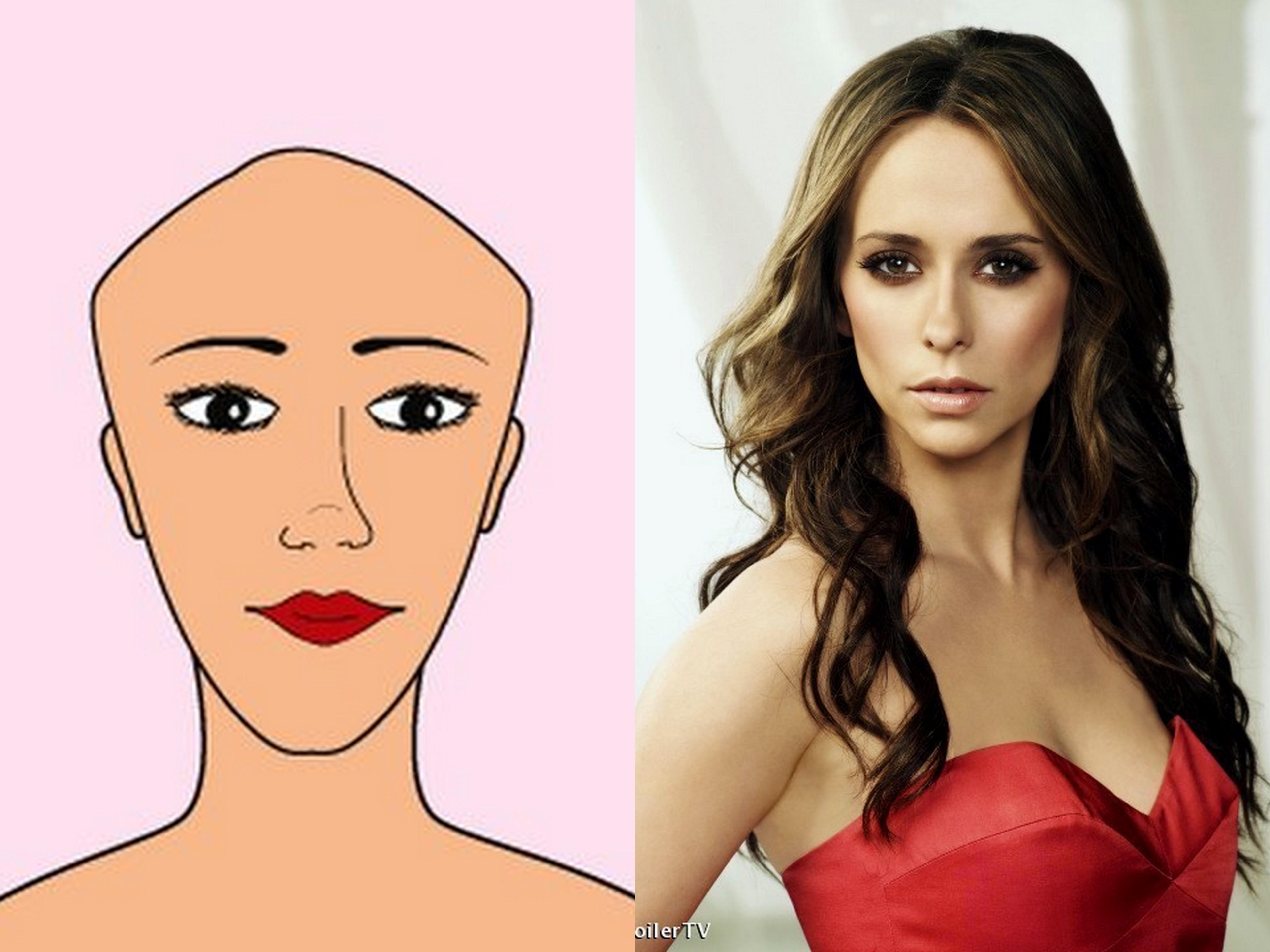 Coupe de cheveux femme visage triangle bas