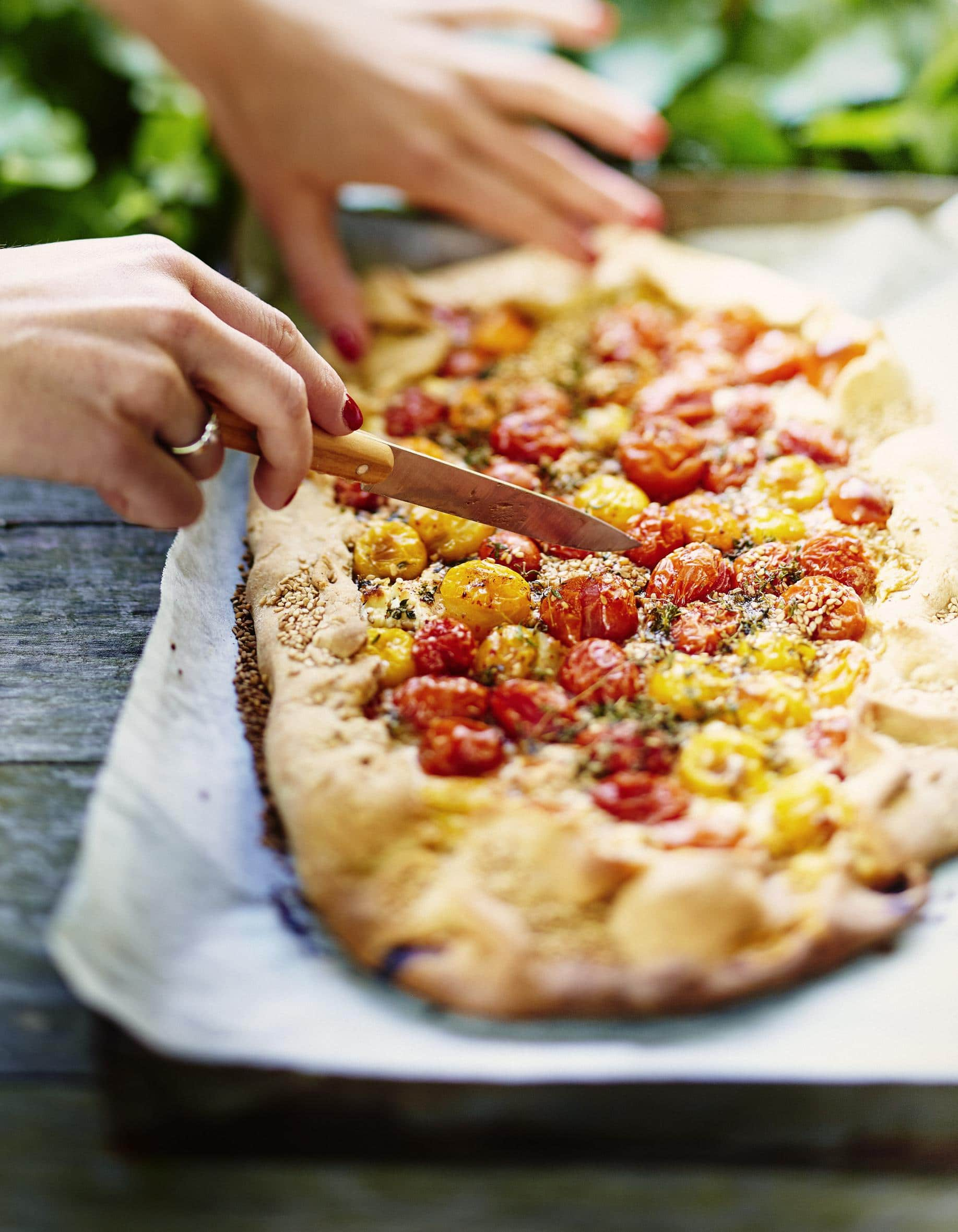 recette quiche chevre tomates cerises