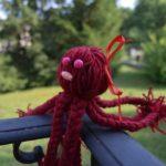 diy pieuvre laine