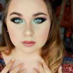 maquillage teal