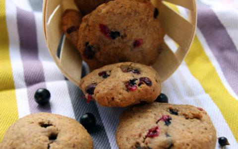 recette cookies au cassis