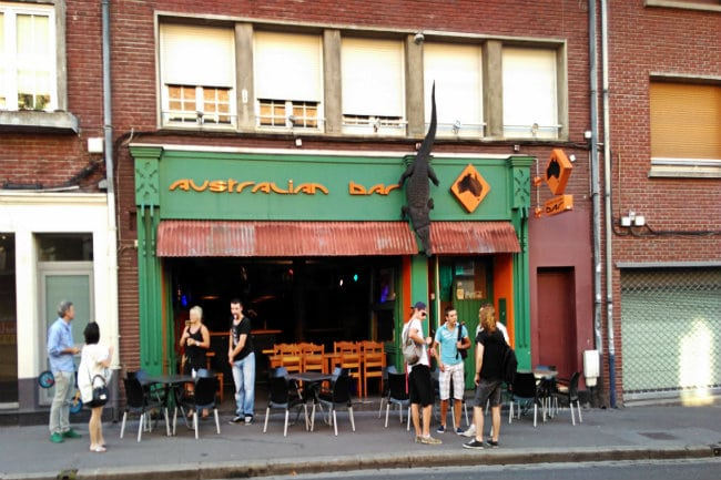 autralien bar amiens