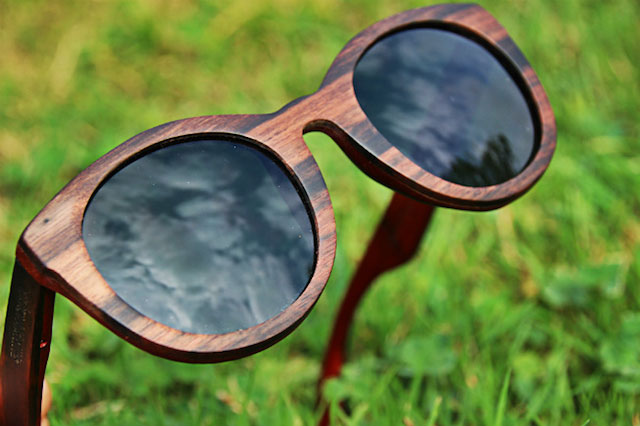 lunettes shinywood