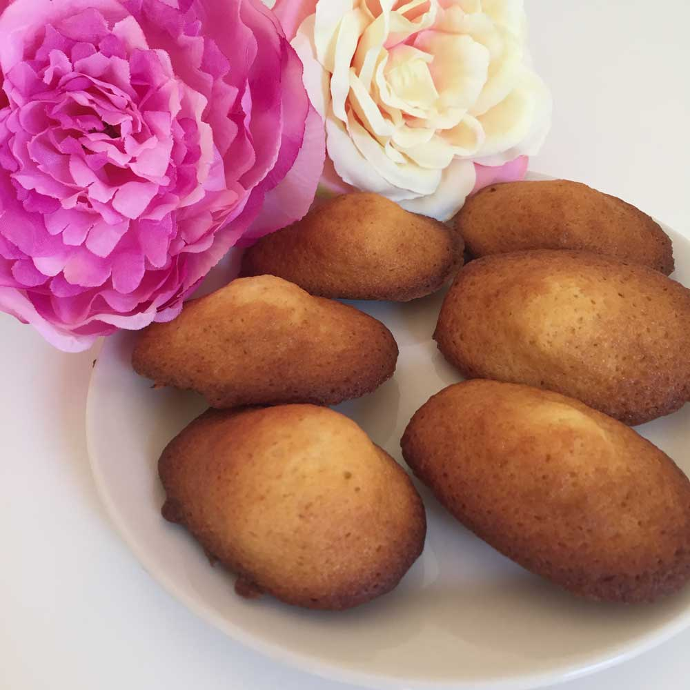 recette madeleines à la vanille