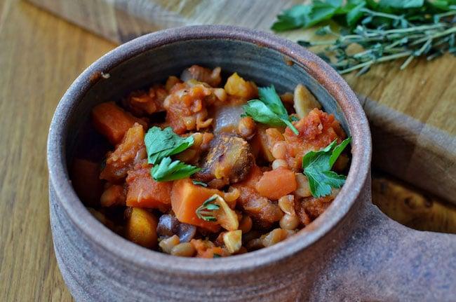 recette cassoulet végétarien