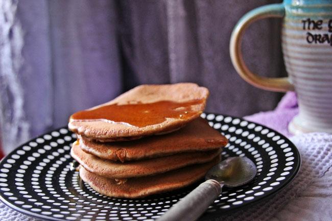 recette pancakes végan