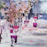 décoration cristal mariage