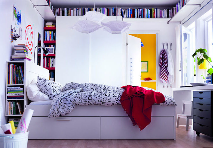 espace petit appartement