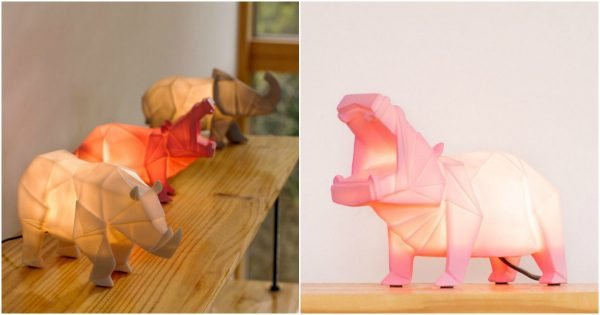 lampes animales
