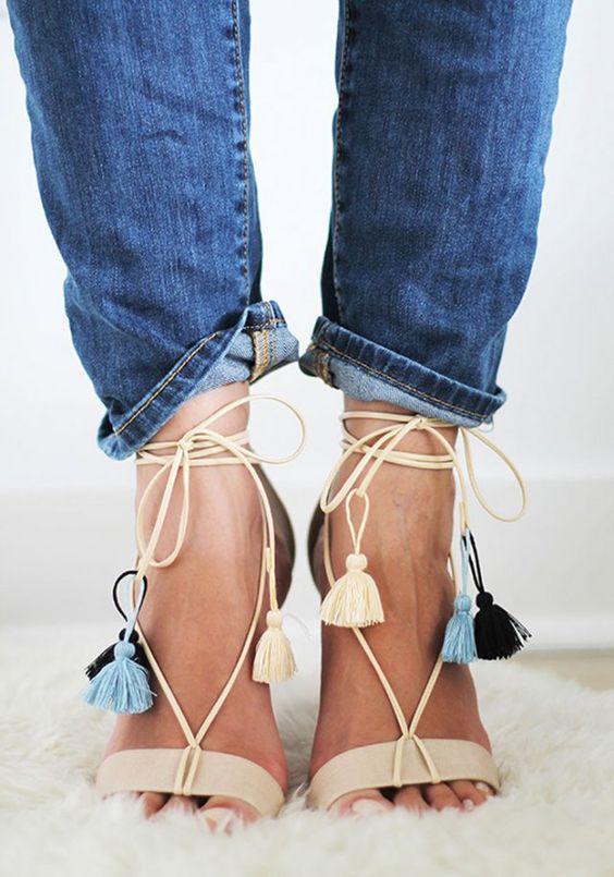 sélection de chaussures pour cet été