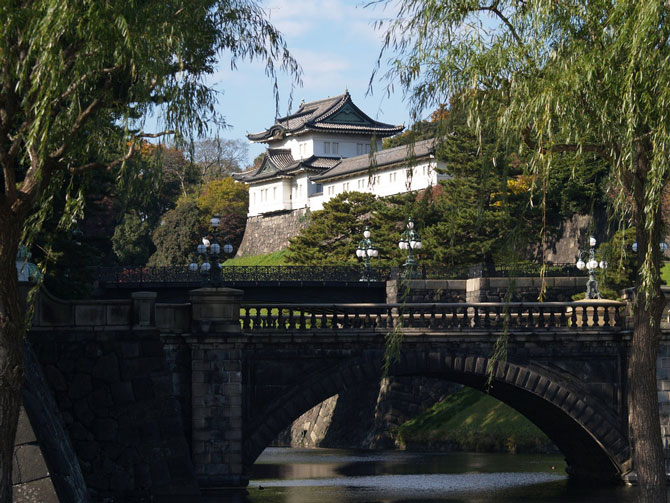 visite palais impérial tokyo
