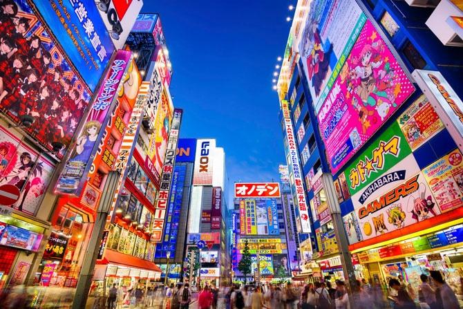 visiter quartier akihabara