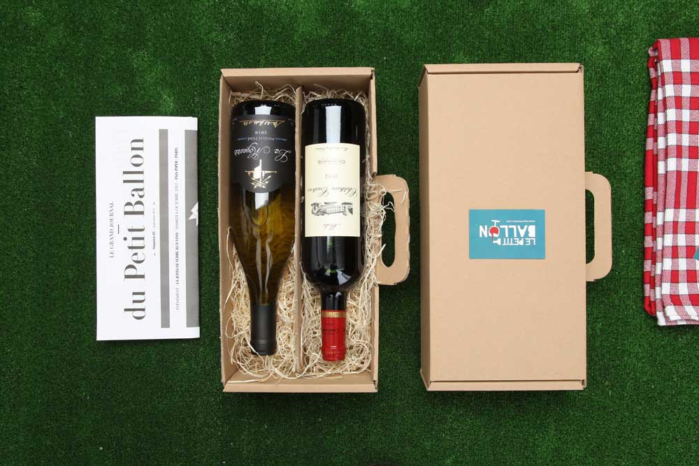 box de vin petit ballon