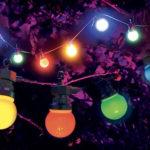 guirlande lumineuse jardin