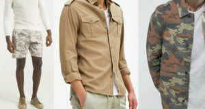 look militaire homme