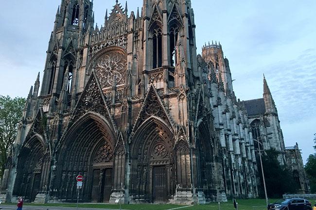 églises rouen normandie