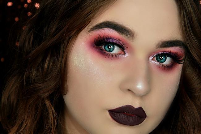tendance makeup plum