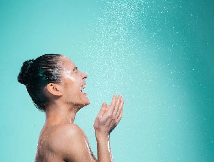 choses à faire après la douche