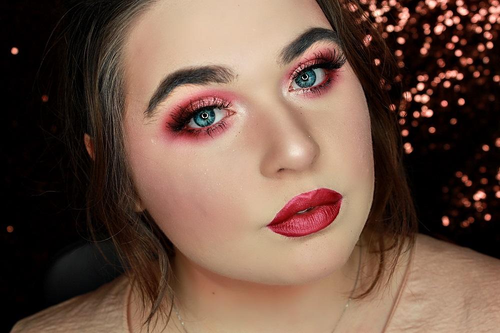 tuto makeup rouge