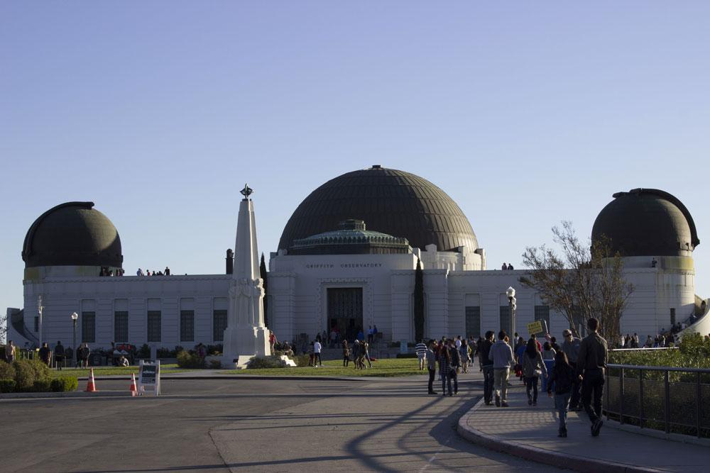 L'observatoire de Los Angeles