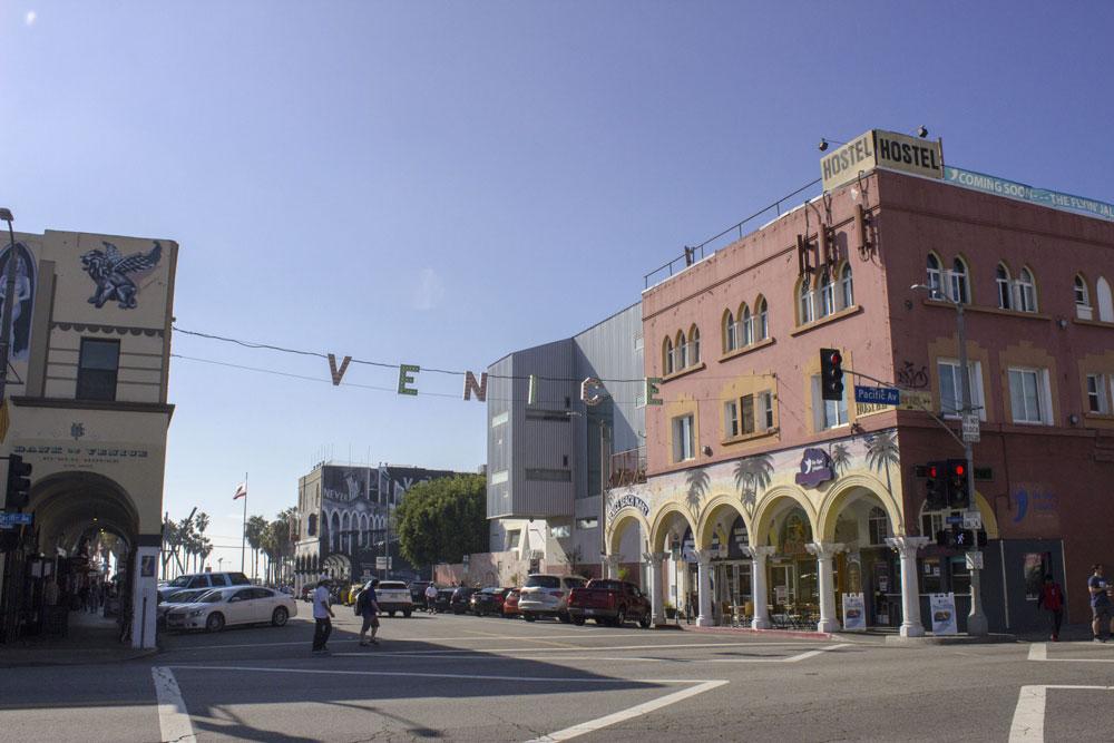 Signe de Venice Beach